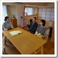 小上がり寝室と小下がり和室のある木のリノベーション(三田)